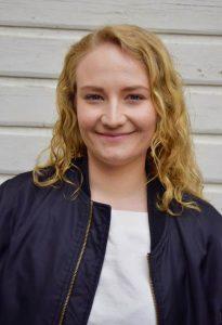 Anna, elev på teaterlinjen