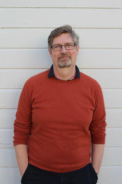 Bosse Widell, teaterpedagog på Wendelsberg