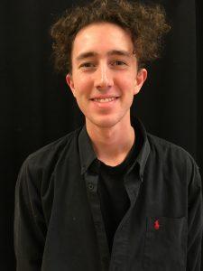 Erik, elev på Teaterlinjen