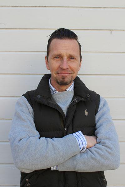 Jesper Åvall, teaterlärare på Wendelsberg