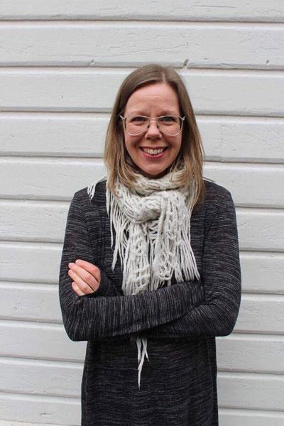 Karin Lindqvist Eklund, undervisar i sång, röst och musikalimprovisation